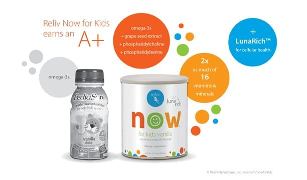 Reliv Now for Kids with LunaRich