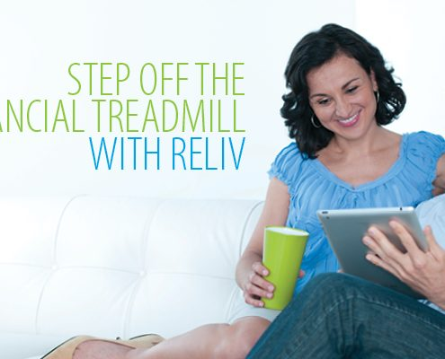 How to step off he financial treadmill