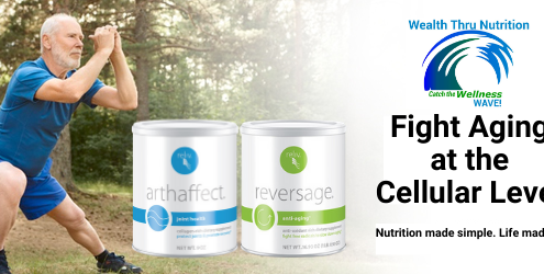 Fight Aging at the Cellular Level with Reliv Arthaffect & ReversAge
